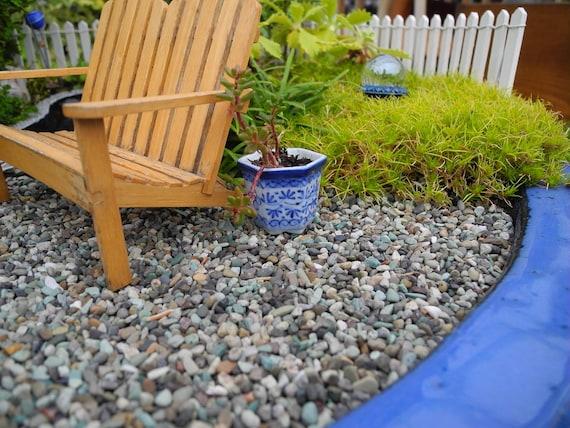 Miniature Garden Pebbles For Miniature Patios Pathways Fairy | Etsy