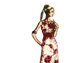 Fashion Print: Fashion Plate.6