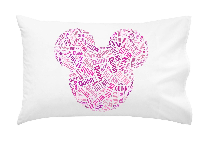 disney gift ideas - pillow for autographs