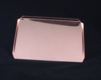 Baking Sheet Toaster Oven PURE SOLID COPPER Metal By West Tinworks