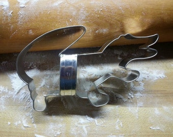 HANDMADE Alligator Cookie Cutter With Custom Handle By West Tinworks