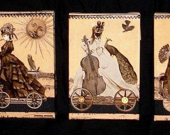 Magic Masquerade Train Original Art Series