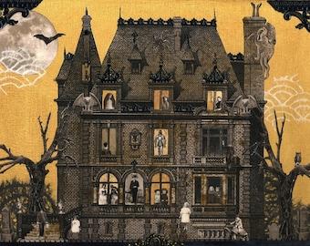 Haunted House - PRINT