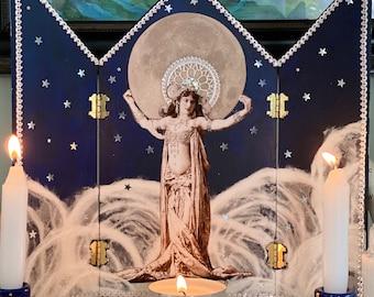 Moon Goddess Shrine Altarpiece