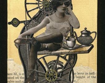 Steampunk Art - Sobriquette Pinion, Machinist