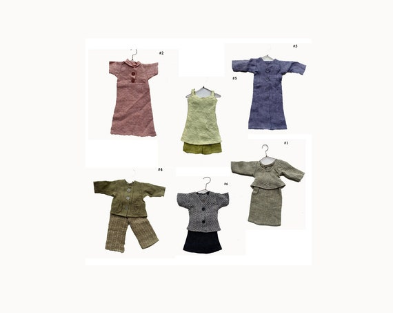 Flax Engelhart Doll Clothes Outfits (sold separately)