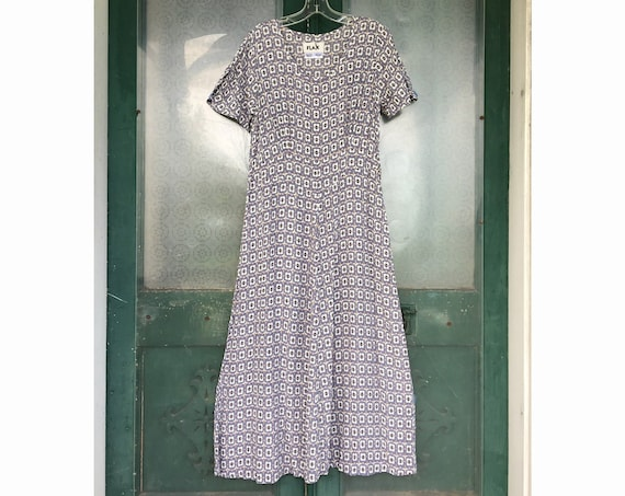 Flax Engelhart Retro Dilletante Dress -S- Deco Rayon