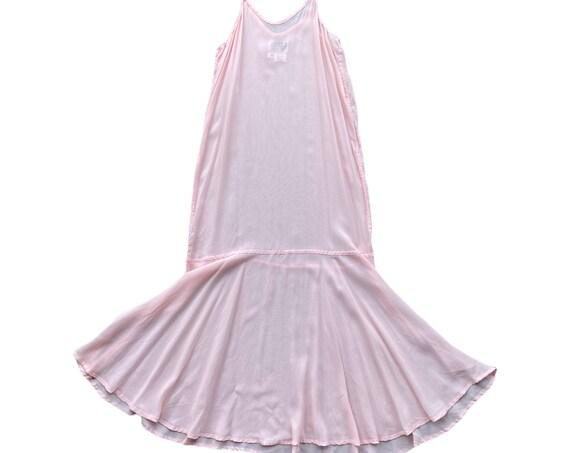 Angelheart Designs Summer Weddings 1999 Flouncy Slip -S- Pink Sky Rayon Georgette