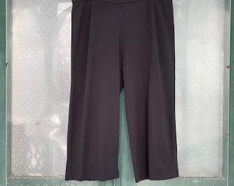 J. Jill purejill Wide Leg Crop Pants -L- Pima Cotton/Modal/Spandex NWT