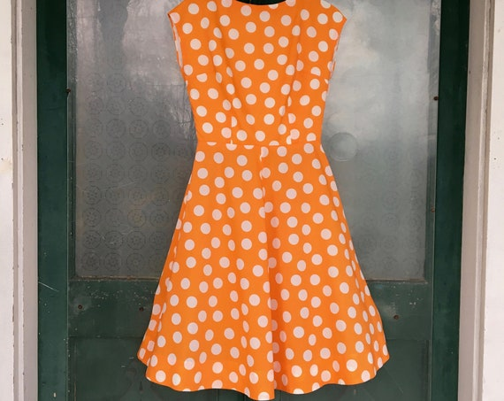 Mod Retro Polka Dot Dress -S/M-