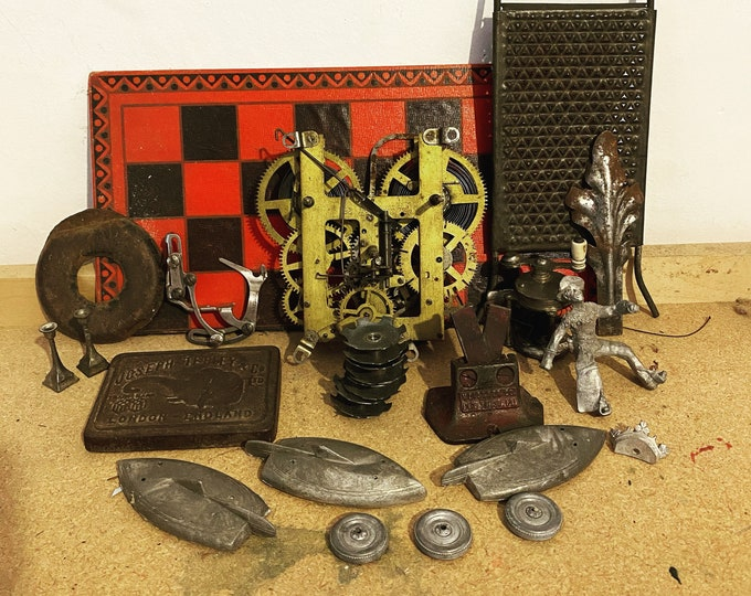 Lot of Metal Found Objects