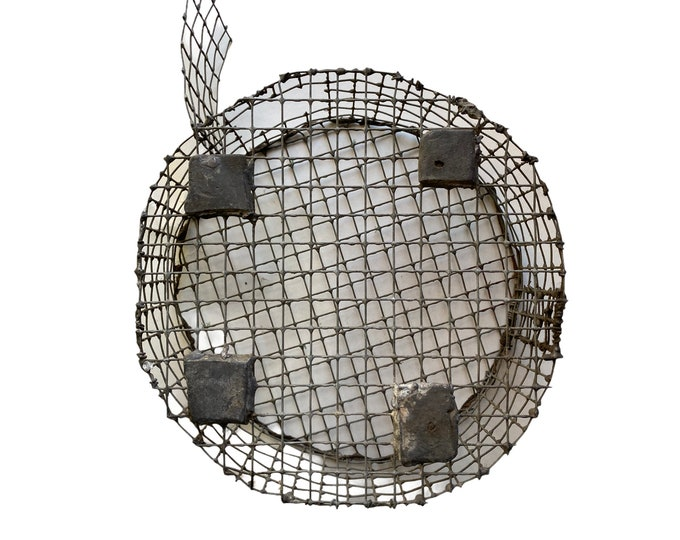 Vintage Homemade Critter Travel Cage