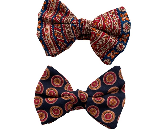 Choice of Bold Patterned Vintage Bow Ties