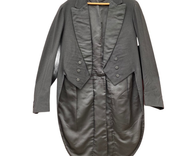 Vintage Black Tailcoat Tux Tails