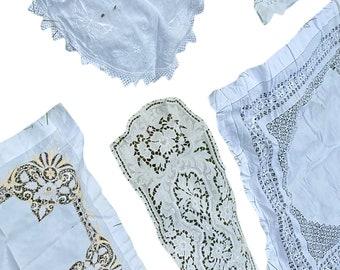 Vintage Linen Cutter Lot of 5 Pieces