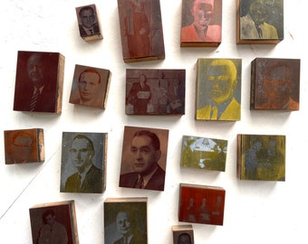 Collection of 18 Copper Printing Plates