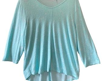 Habitat Turquoise Knit Pullover Tunic -XL-