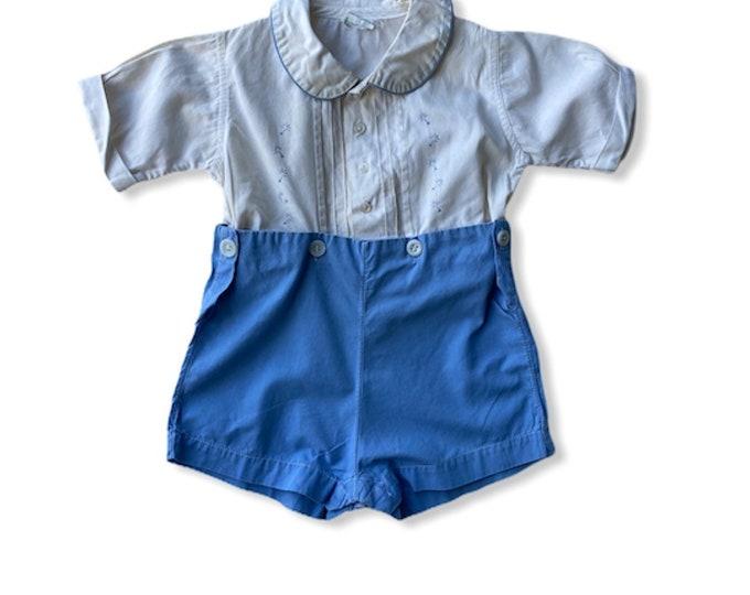 Vintage Child's Stantogs Play Suit
