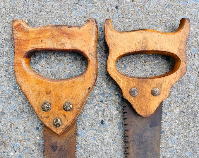 Pair of Foxy Vintage Saws