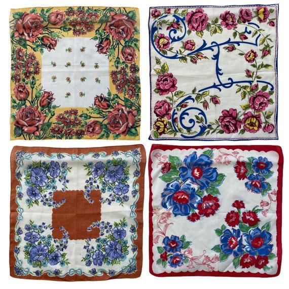 Vintage Floral Hankie - Choice