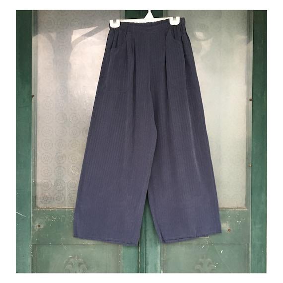 Angelheart Designs Engelhart Whispering Pant -S- Blue Rayon