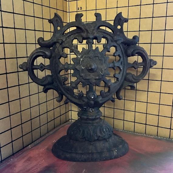 Antique Cast Iron Stove Top Ornament