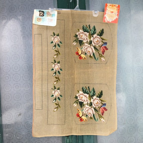 Vintage Dritz Designer Needlepoint Handbag NWT