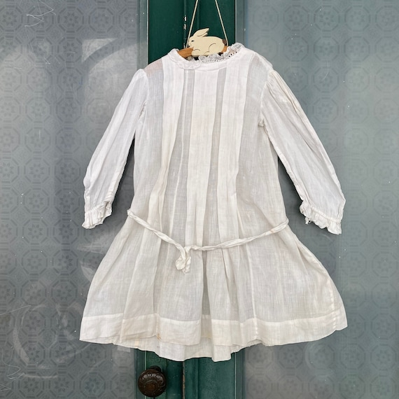 Edwardian Childs Dress in need of restoration