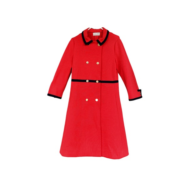 1960s Vintage Avagolf Italy Wool Knit Coat
