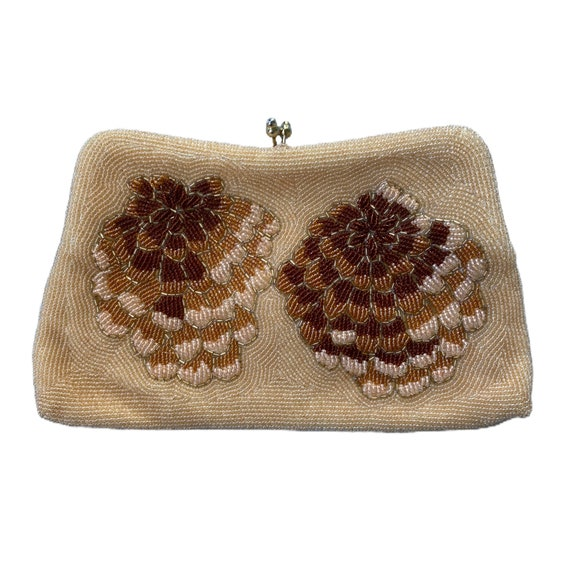 Vintage Beaded Convertible Handbag Clutch
