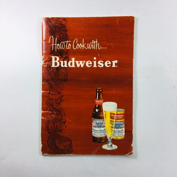 1952 How to Cook with Budweiser