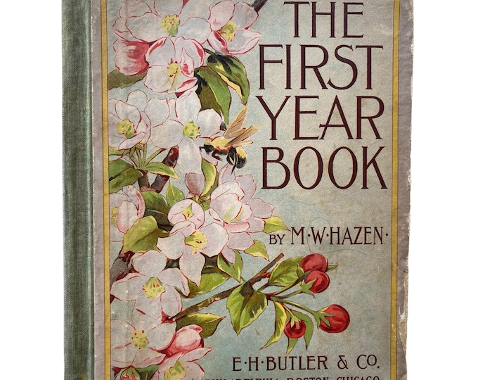 1896 Primer The First Year Book by MW Hazen First Edition