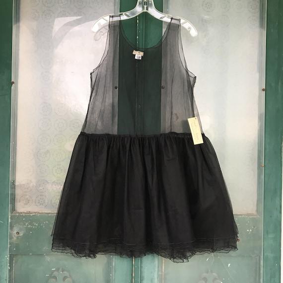 Neesh by DAR TuTu Too Too Layering Dress -OS- Black Tulle NWT