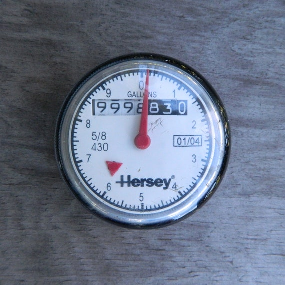 Used Glass Dome Hersey Water Meter