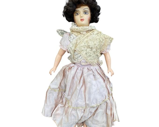 "Vintage Boudoir Doll 22"""