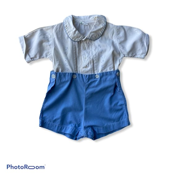 Vintage Child's Stantogs Play Suit