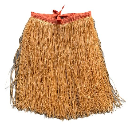 Vintage Costume Grass Hula Skirt