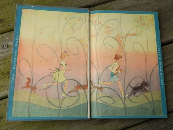 Runaway Rhymes by Alice Higgins and Illustrated by Tom Lamb 1937
