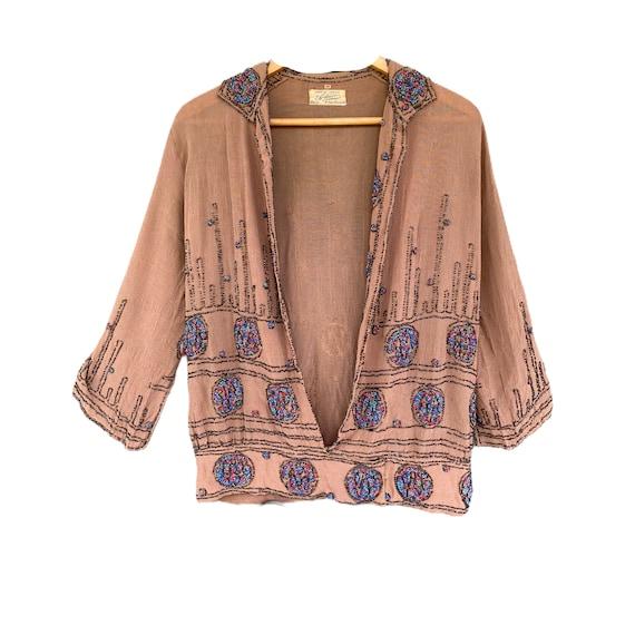 1920s Adair of France Beaded Jacket