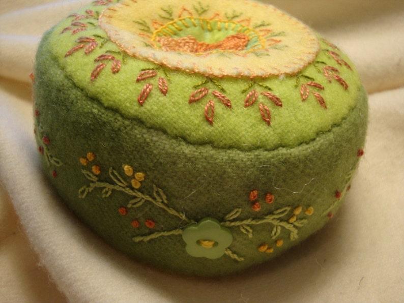 Pincushion in Greens image 0