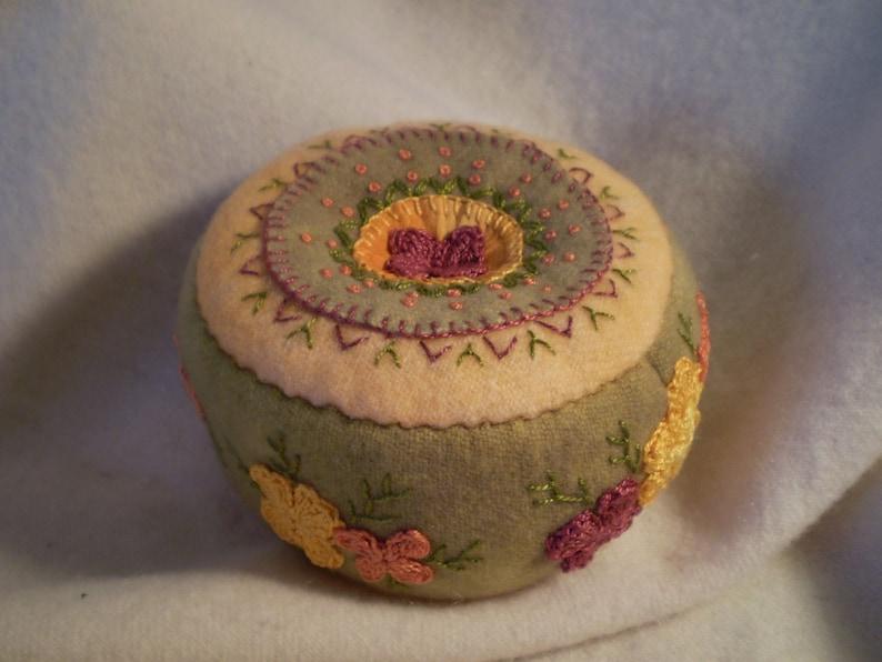 Citrus Flower Pincushion image 0