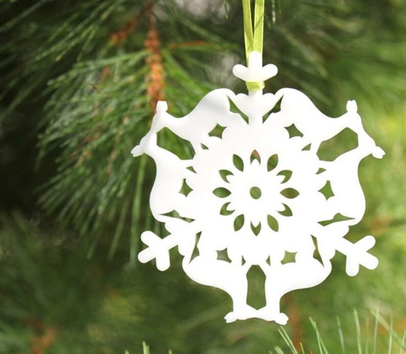 Deer Christmas ornament woodland Christmas ornament tree image 0