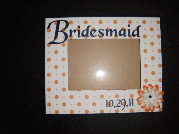 Frames For Your Wedding Party With Titles And Flowers Etsy