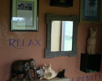 Relax and Serenity Wall vinyl