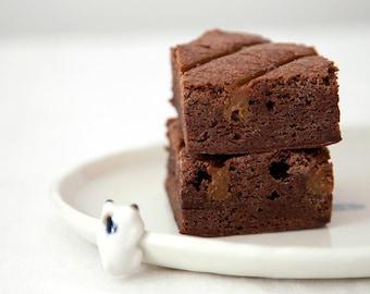 Chocolate Espresso Brownie with Dulce de Leche