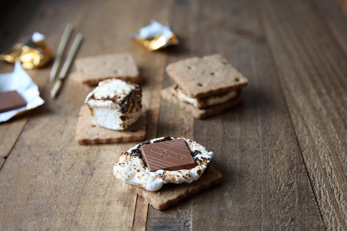 S'mores Kit with gourmet marshmallows, DIY kit, food gift