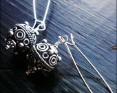 Bali - Bali, Sterling Silver, Sterling Plated, Silver filled, Wire Wrapped, Metal Earrings