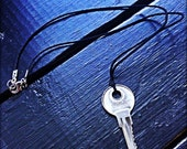 BP660 - Key, Wax Cord, Necklace
