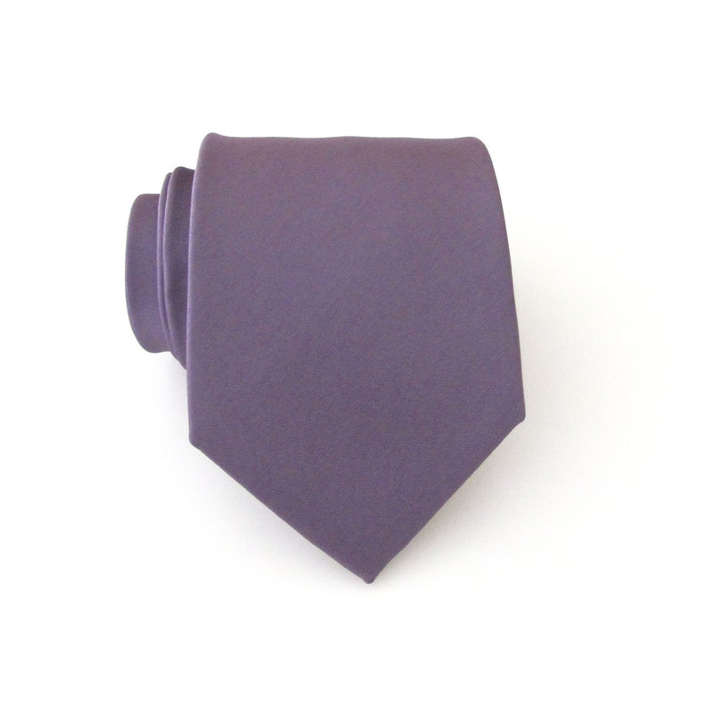 583a40c896cef Mauve Mens Tie With FREE Matching Pocket Square. Mauve Dusty   Etsy