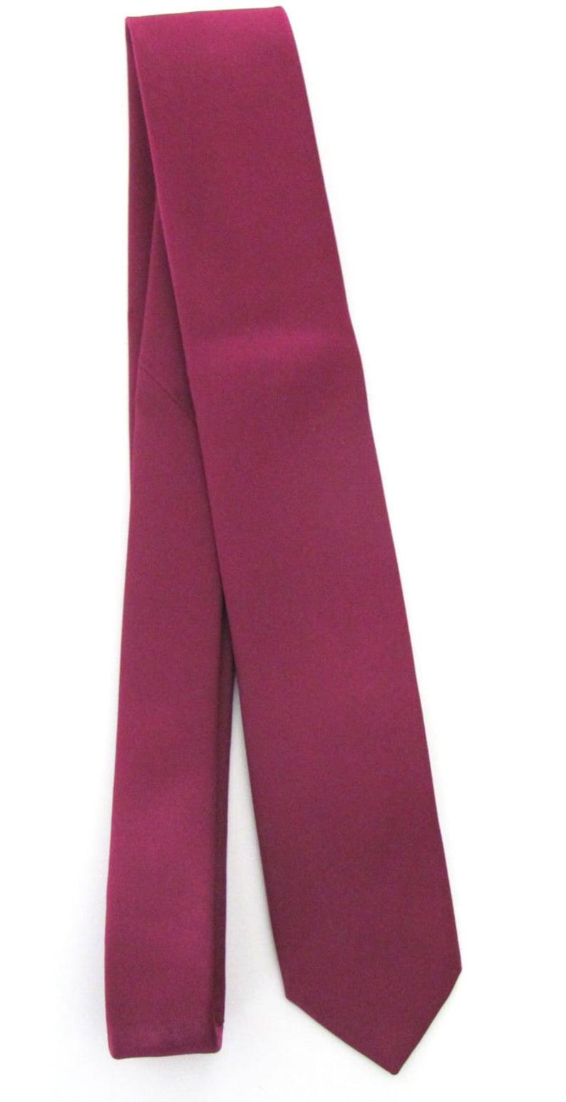 3d81eef86016 Mens Skinny Tie Spiced Wine Berry Bouquet Skinny Necktie | Etsy